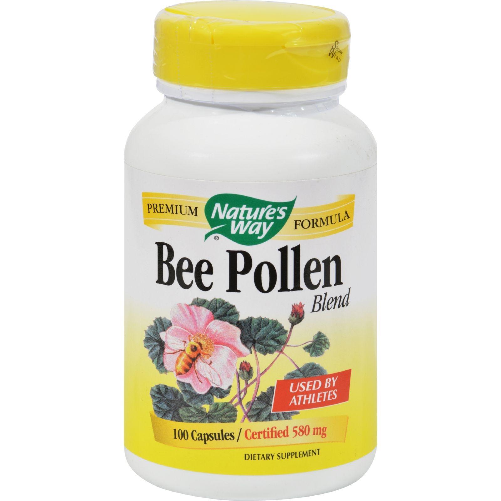 Nature's Way Bee Pollen Blend - 100 Capsules