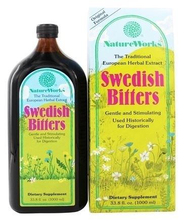 Nature Works Swedish Bitters - 33.8 Fl Oz